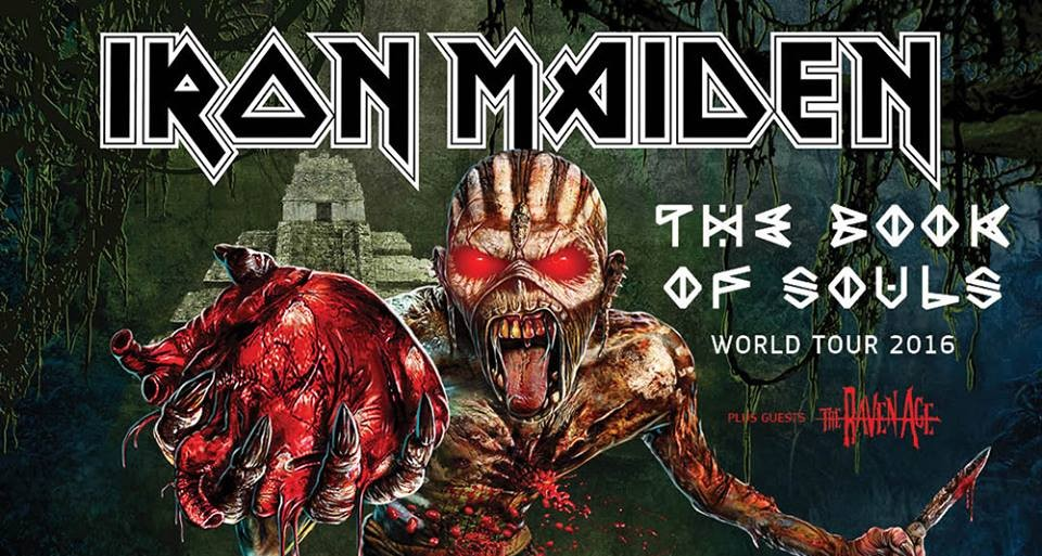 iron maiden-the book of souls tour