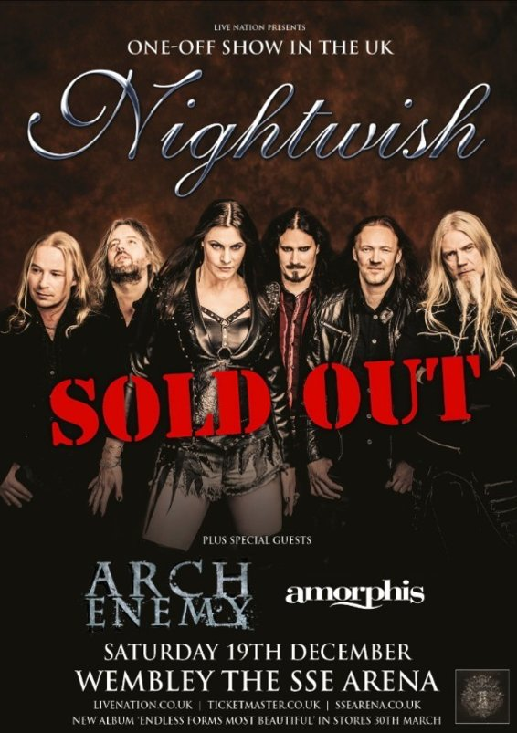 nightwish-wembley arena