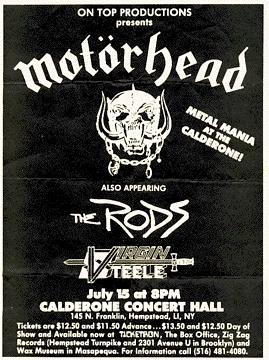 motorhead the rods cartel