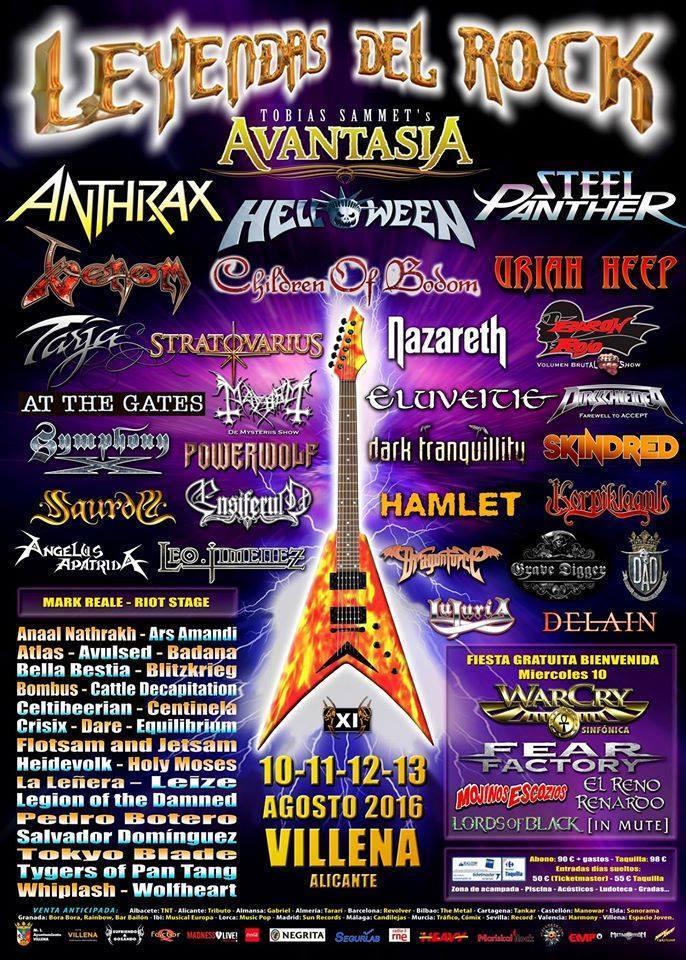 leyendas del rock cartel