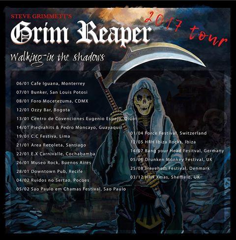 grim reaper gira
