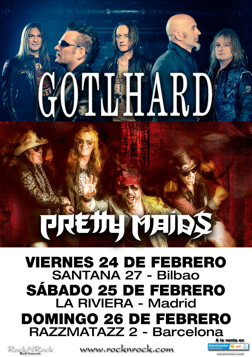 gotthard pretty maids cartel