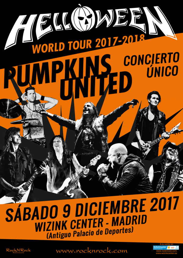 helloween - madrid cartel pic 1