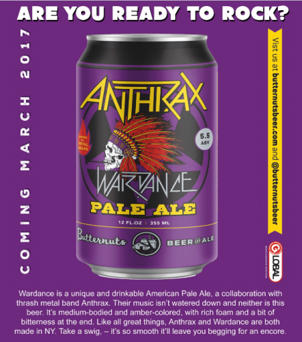 anthrax - cerveza