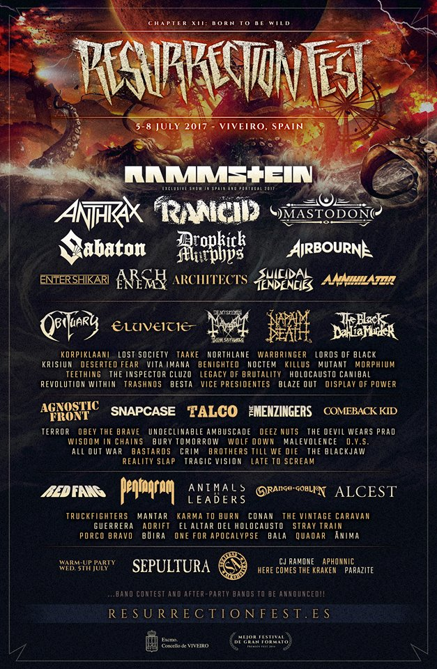 resurrection fest 2017