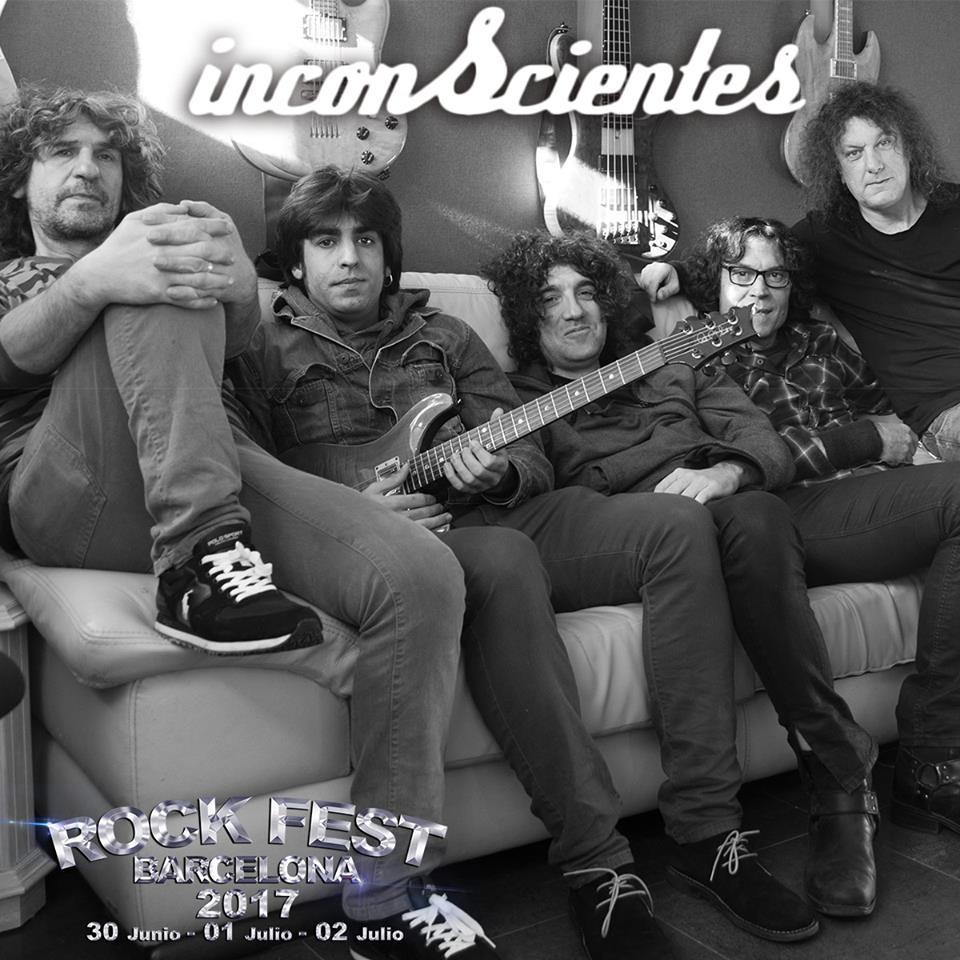 rock fest bcn - inconscientes