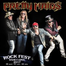 rock fest bcn - pretty maids