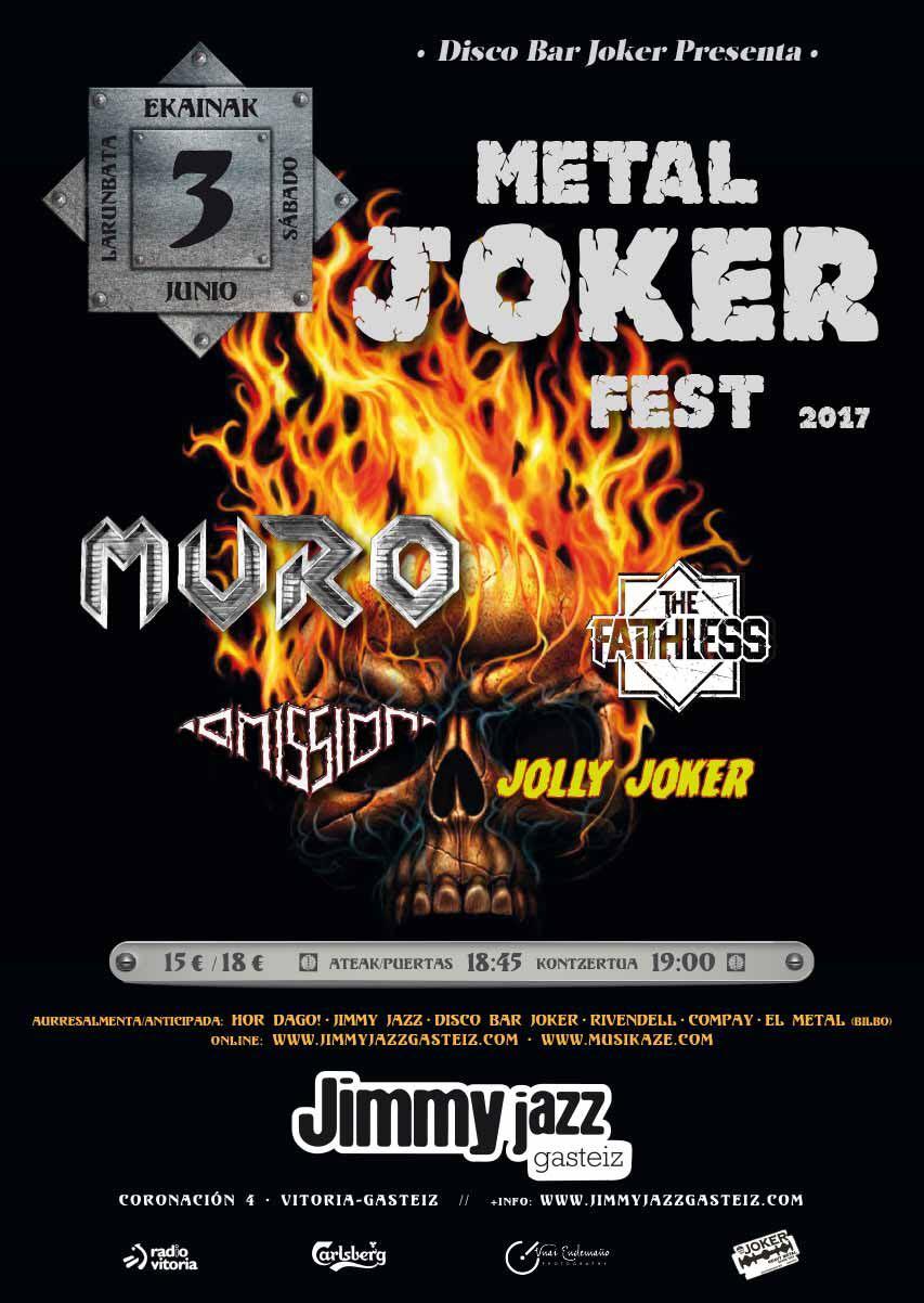 Cartel III Metal Joker Fest