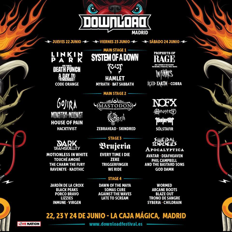 download festival cartel cerrado