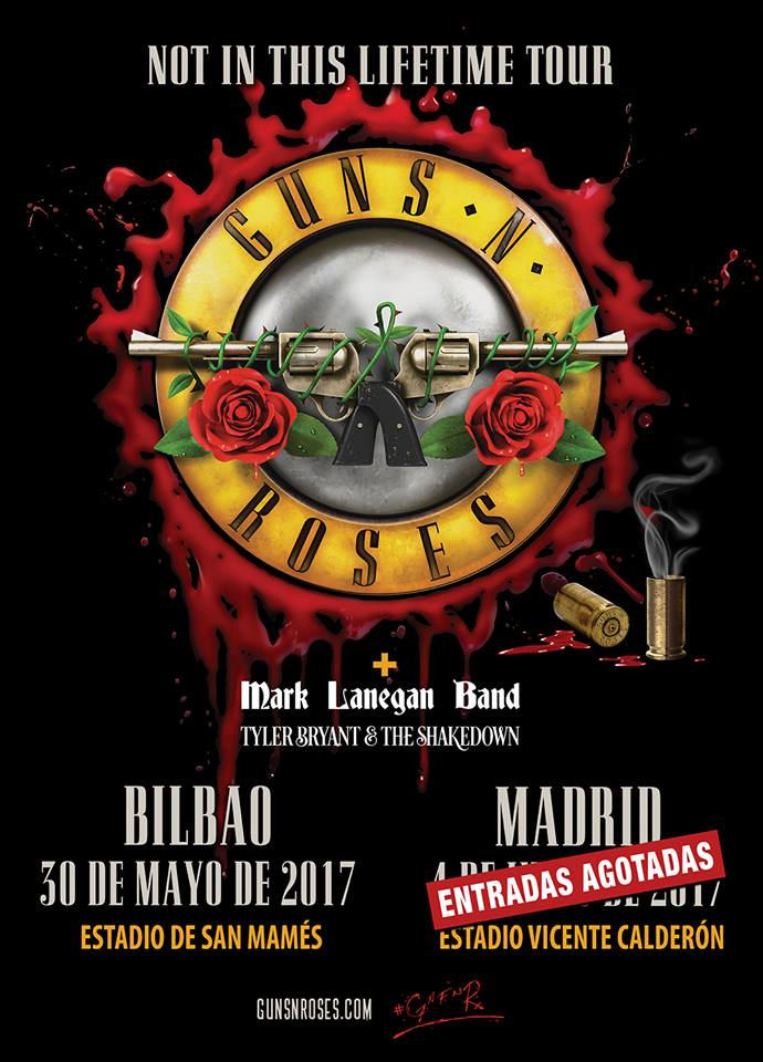guns n roses bilbao madrid