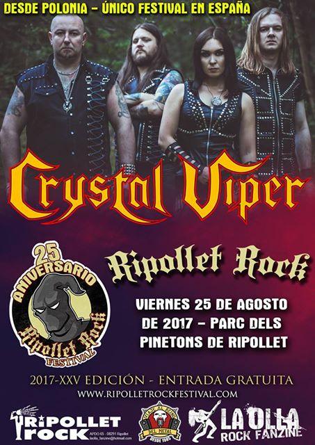 crystal viper - ripollet rock