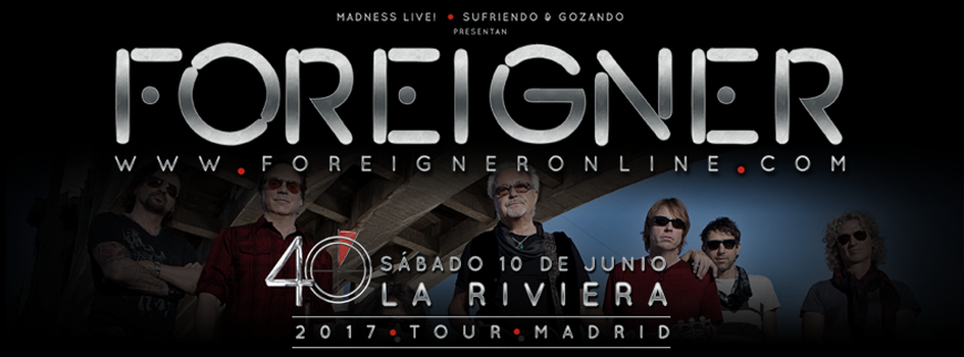 foreigner - madrid
