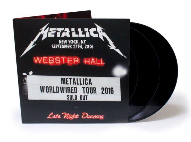 metallica - webster hall