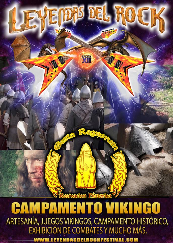 campamento vikingo