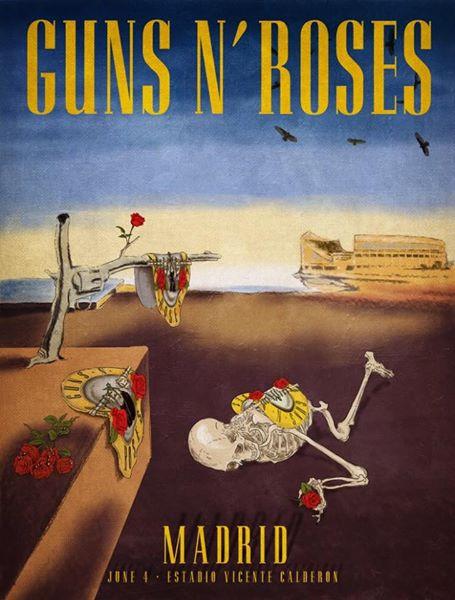 guns n roses - madrid