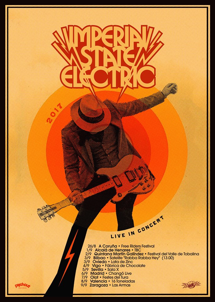 imperial state electric gira