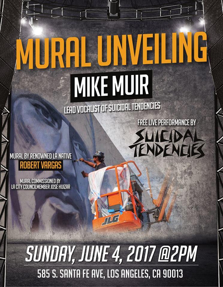 mike muir mural