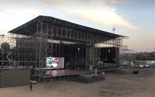rock fest bcn 2017 - escenario