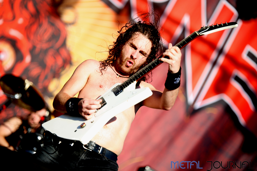 airbourne - rock fest 2017 pic 1