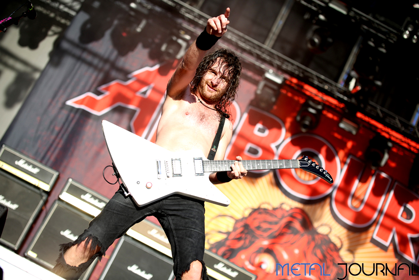 airbourne - rock fest 2017 pic 5