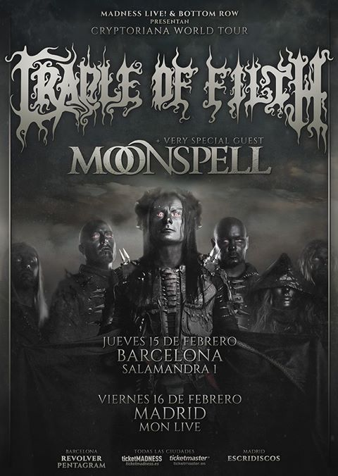 cradle of filth moonspell cartel