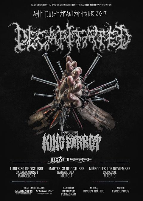 decapitated - cartel 2017