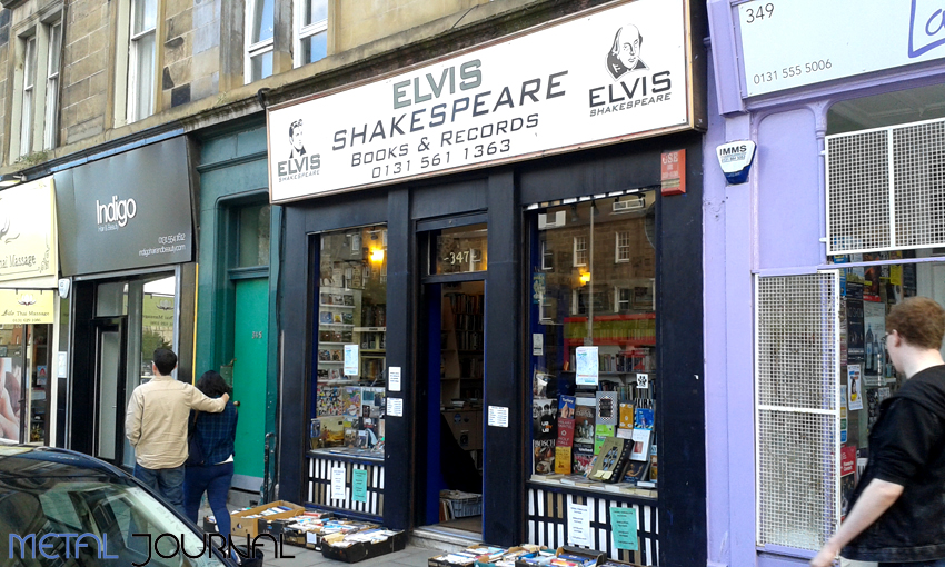Elvis Shakespeare Edimburgo copia