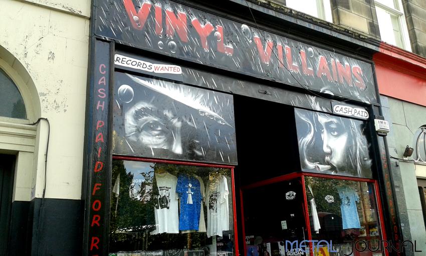 Vinyl Villains Edimburgo pic 1