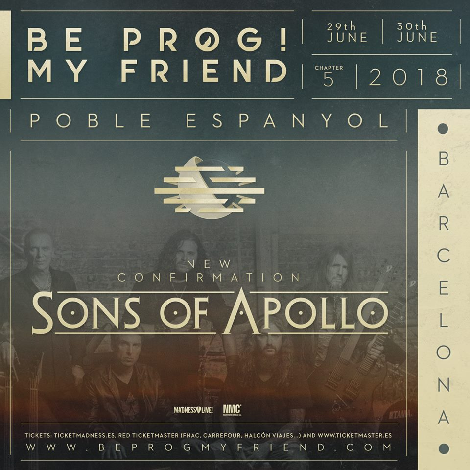 be prog sons of apollo