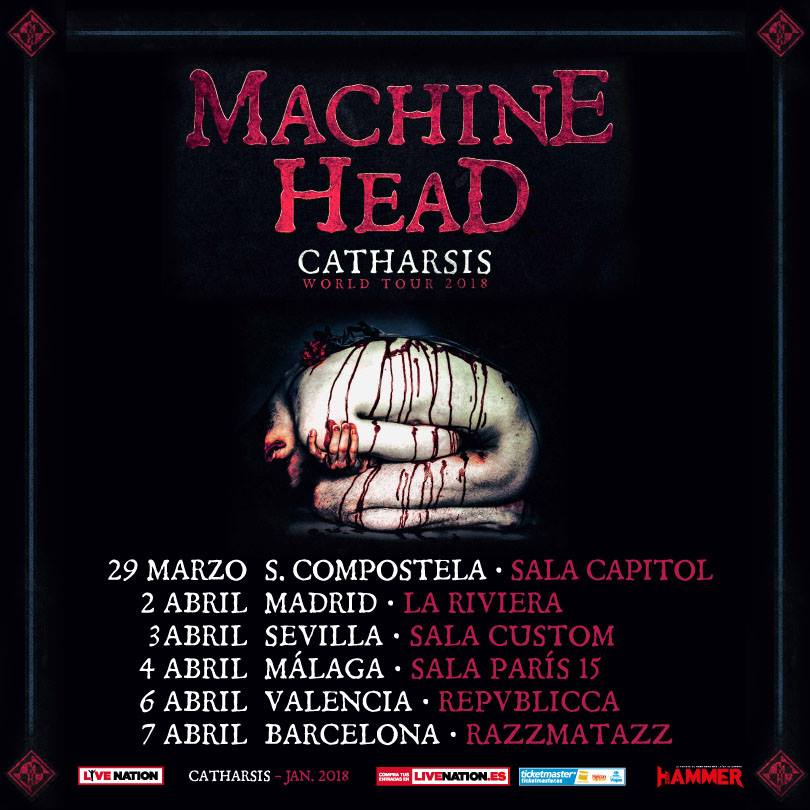 machine head españa pic 1
