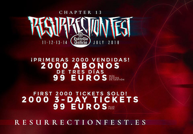 resurrection fest entradas
