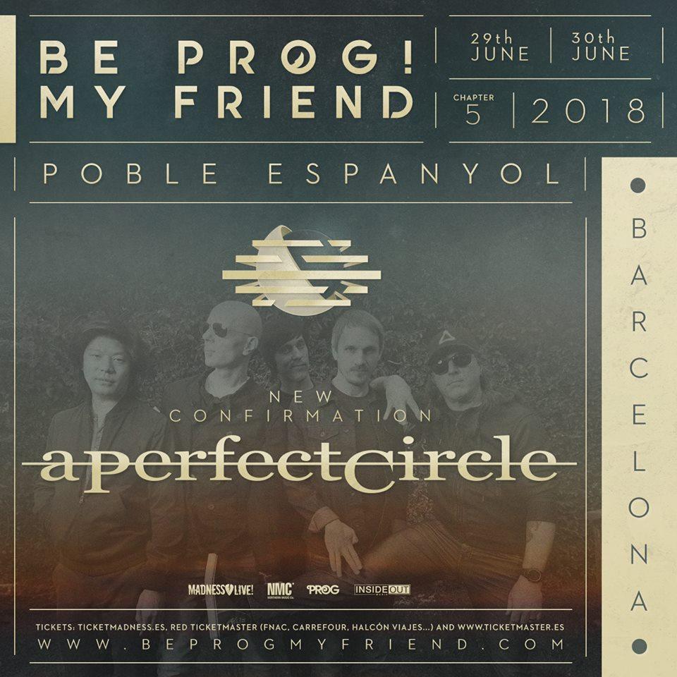 a perfect circle - be prog