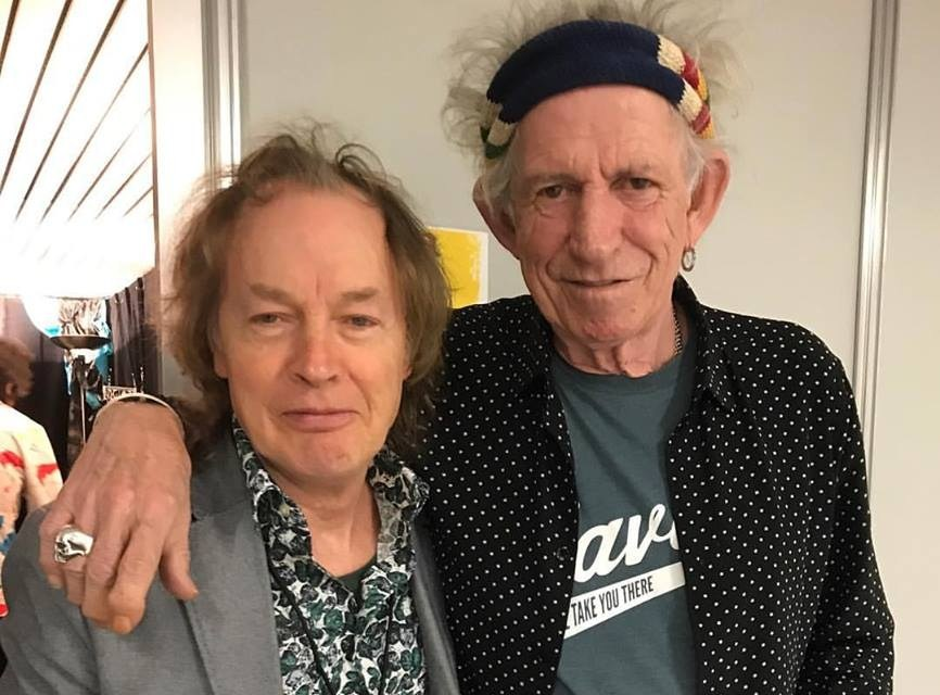 angus young - keith richards