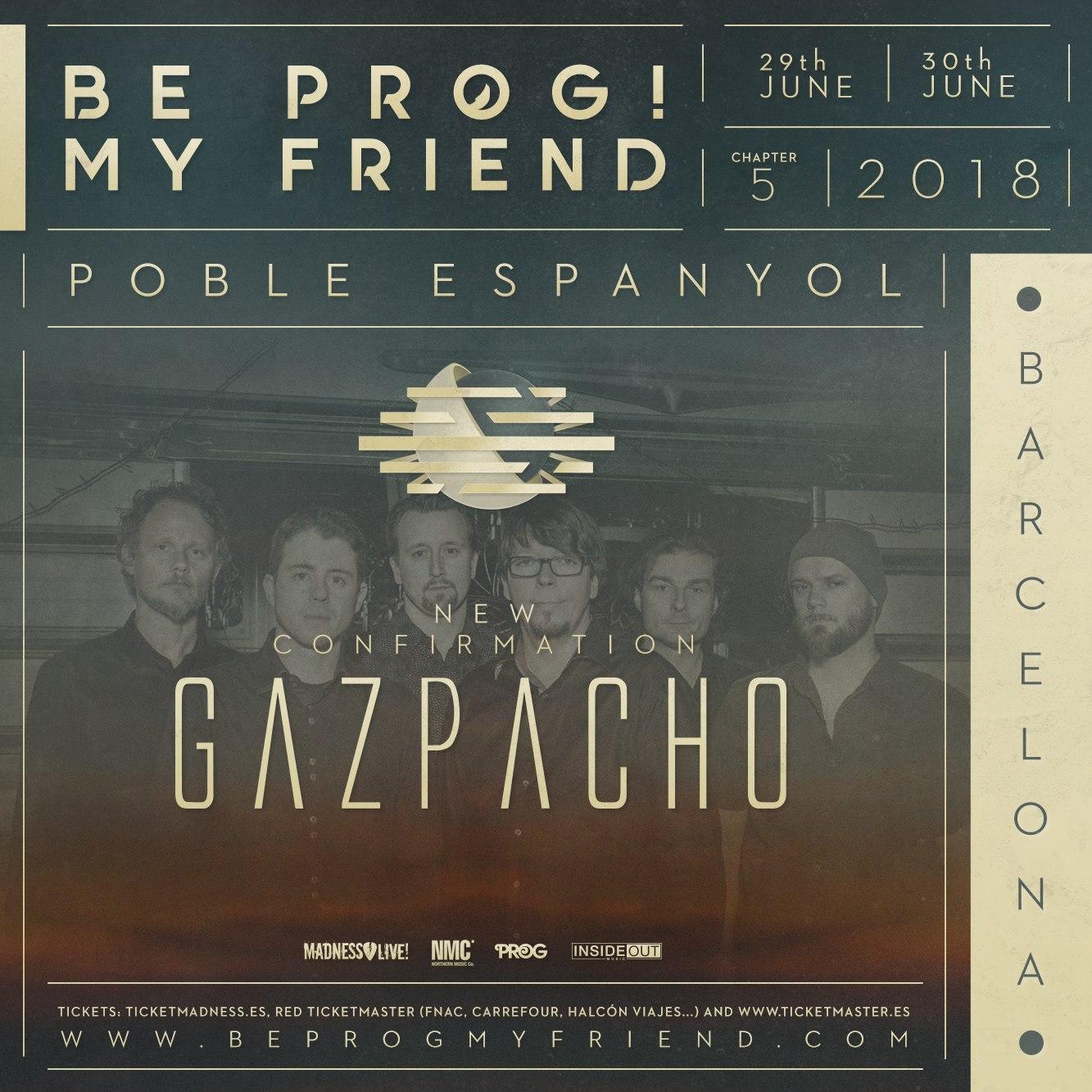 gazpacho - be prog