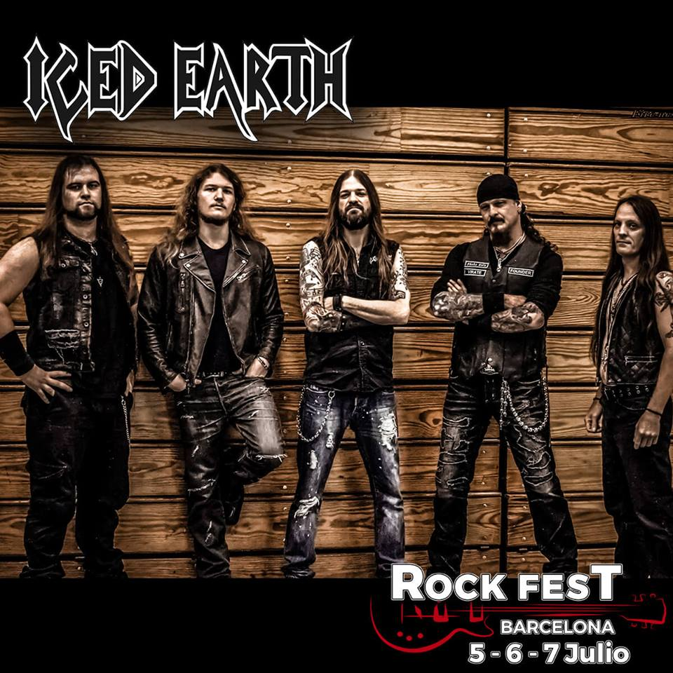 iced earth rock fest