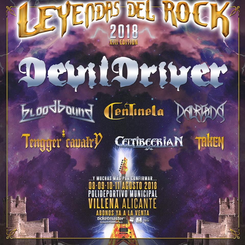 leyendas del rock confirmaciones devildriver