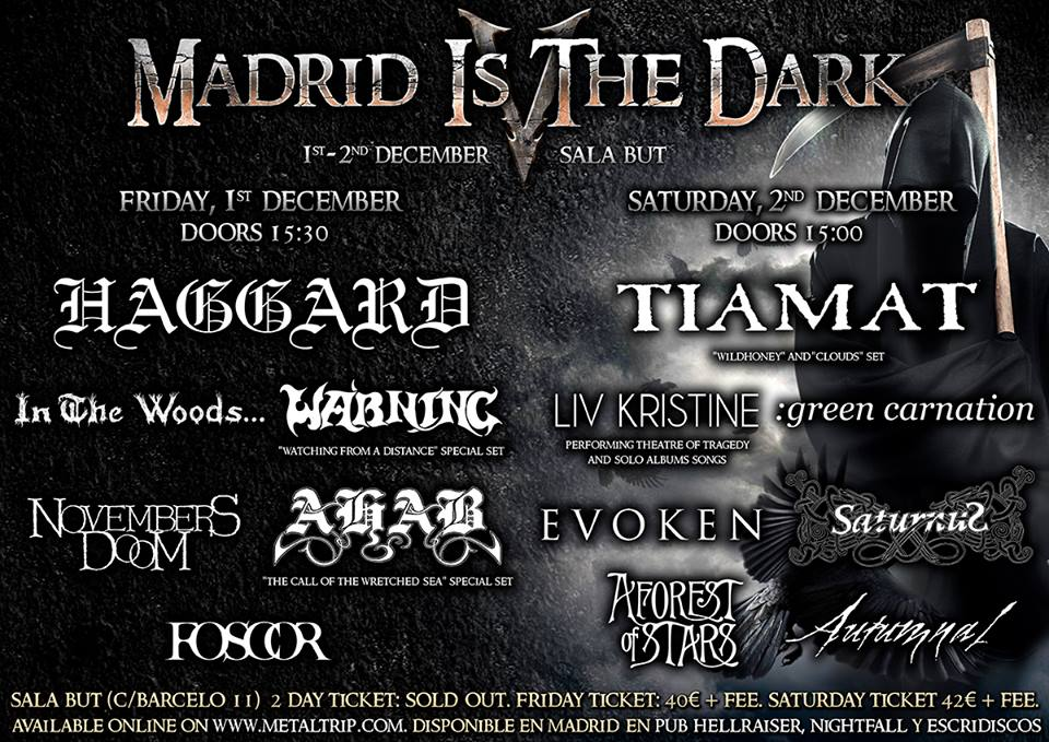madrid is the dark - tiamat saturnus