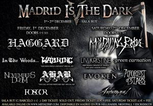 madrid is the dark v