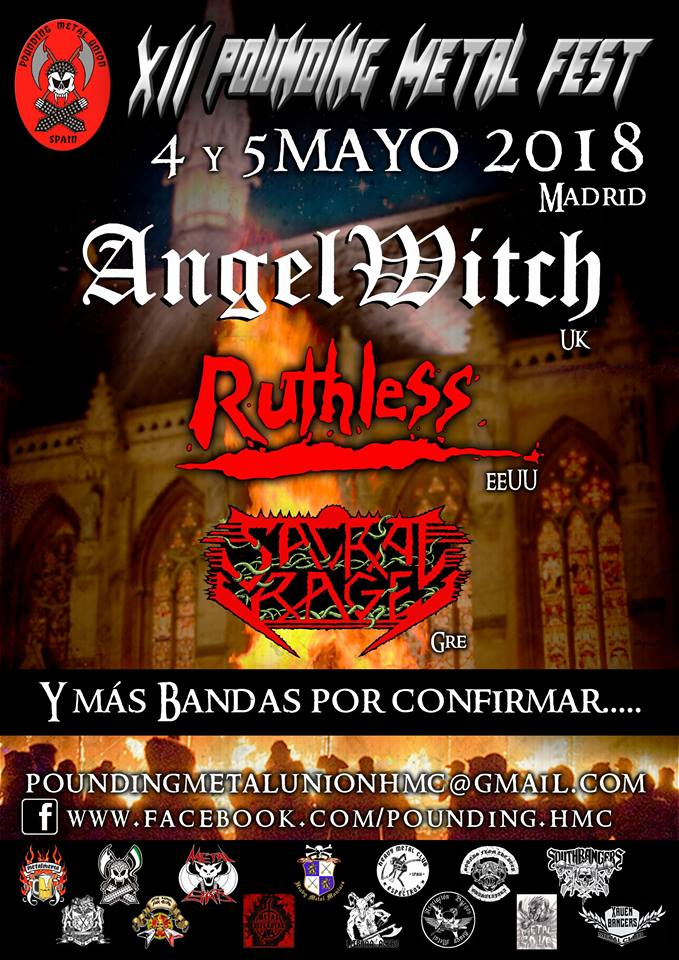 pounding metal fest - angel witch