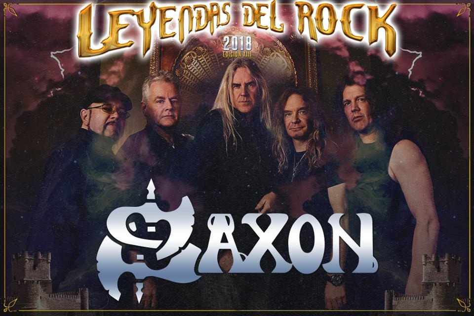 saxon - leyendas del rock 2018