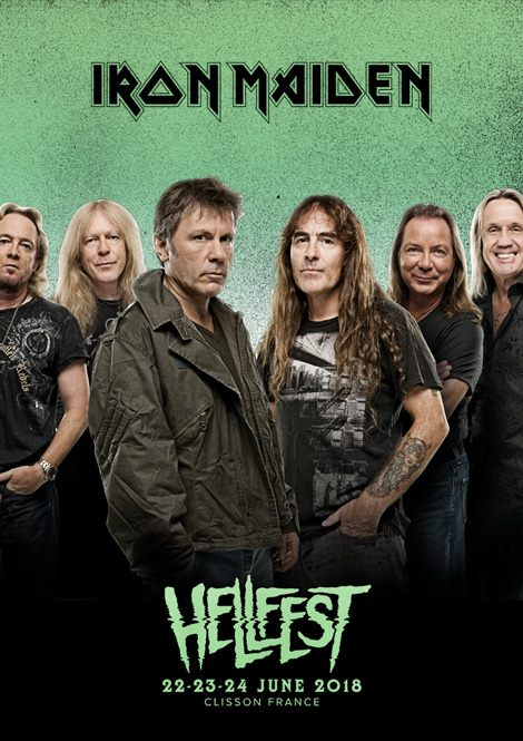 Hellfest - iron maiden