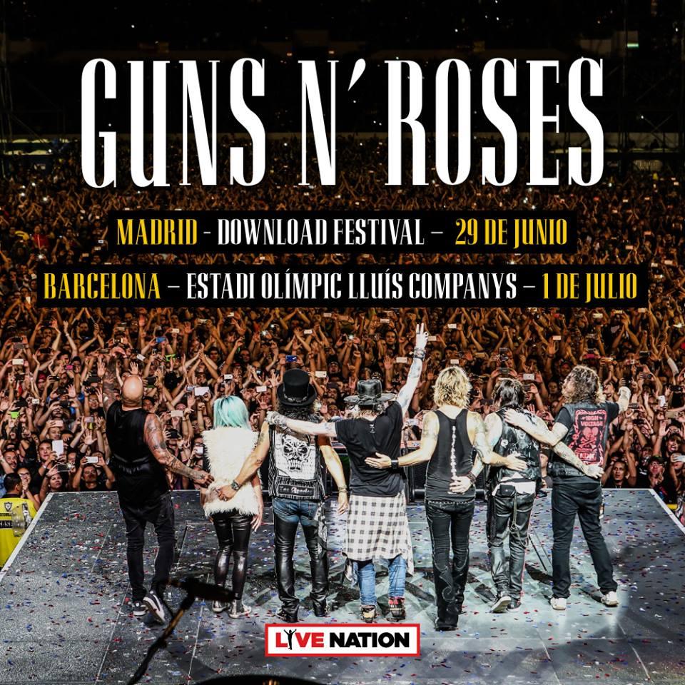 guns n roses españa 2018