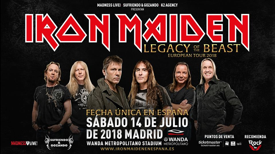 iron maiden madrid 2018