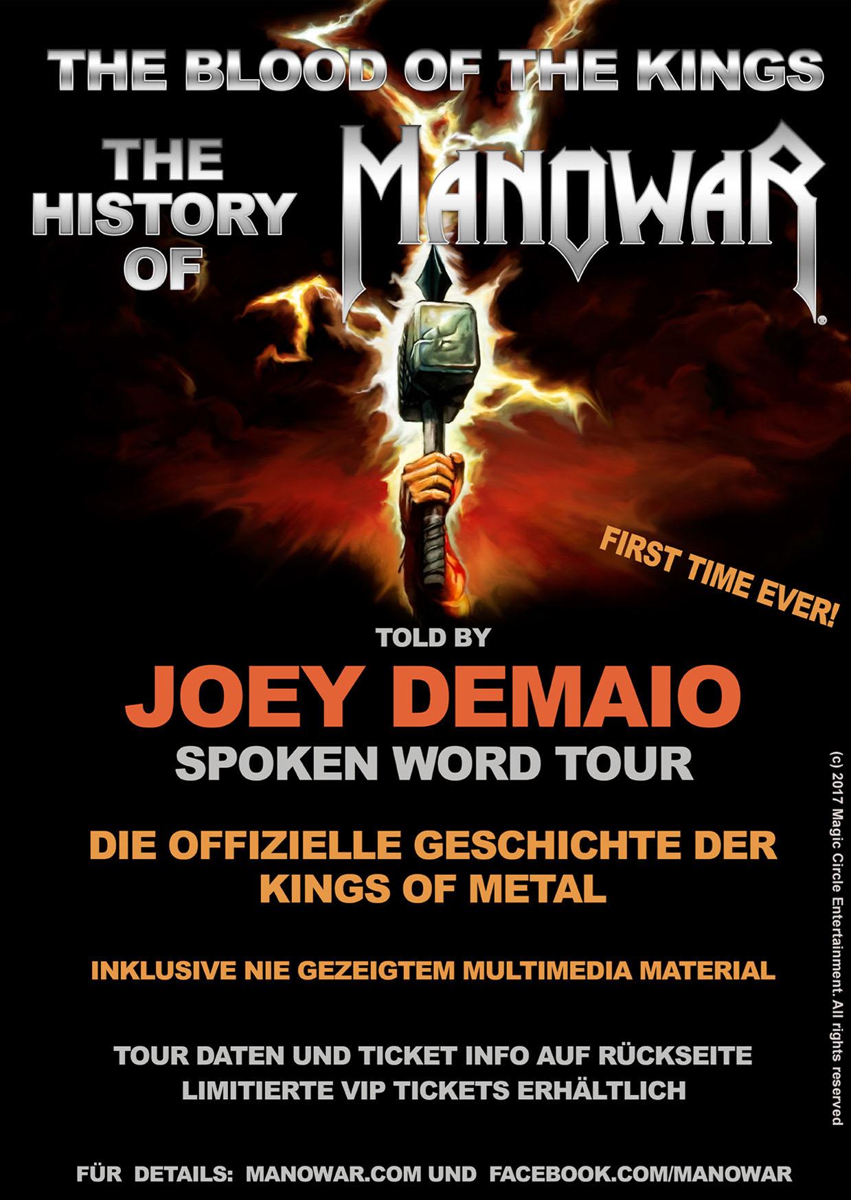 joey demaio tour