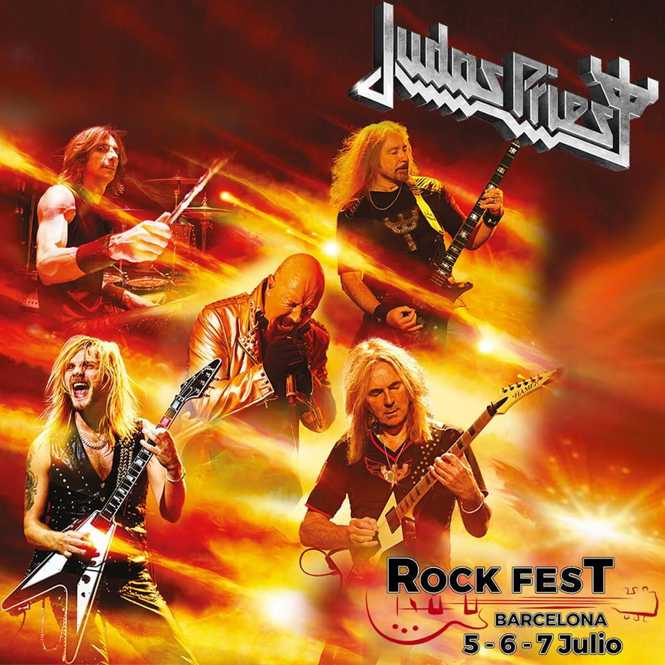 judas priest - rock fest