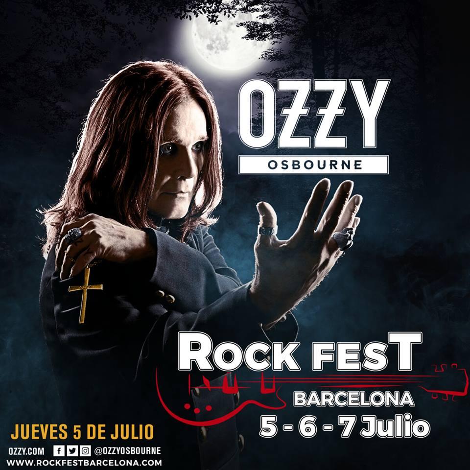 ozzy - rock fest