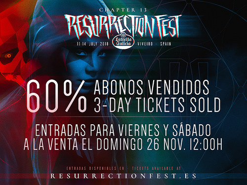 resurrection fest - abonos