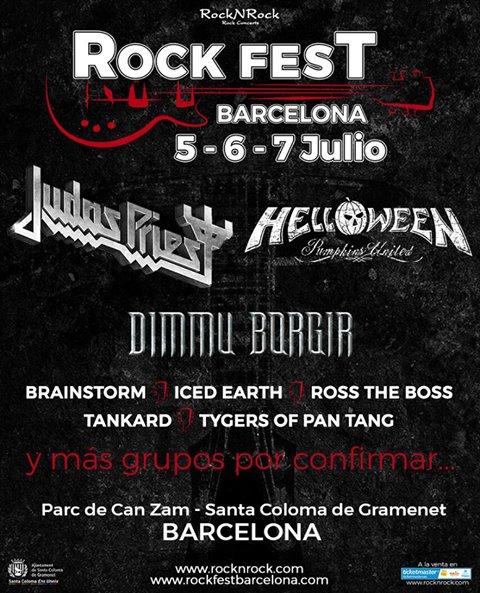 rock fest barcelona 2018 cartel pic 1