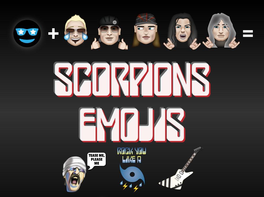 scorpions - emoticonos