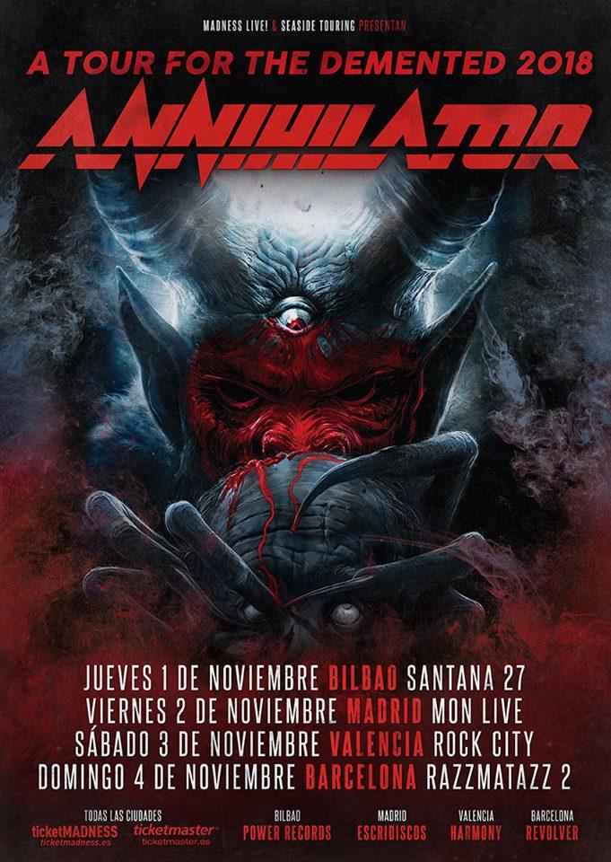 annihilator cartel 2018